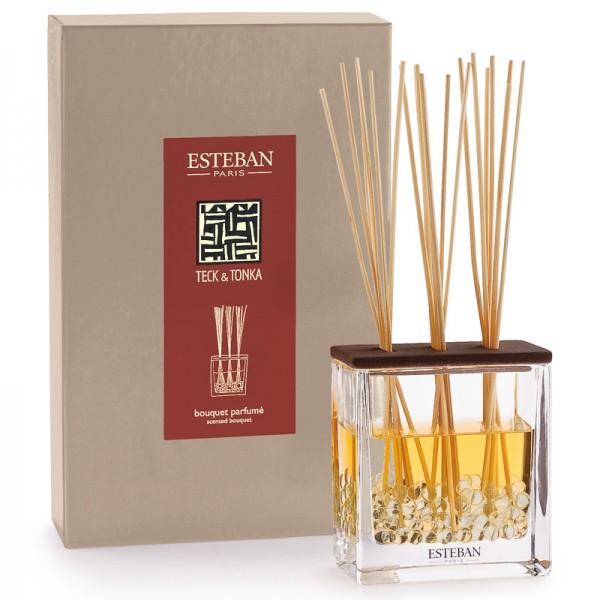 Estéban Teck & Tonka Diffuser - bouquet parfumé