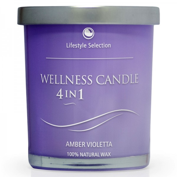 Seyko - Massagekerze - Wellness Candle Amber Violetta - Lifestyle Selection