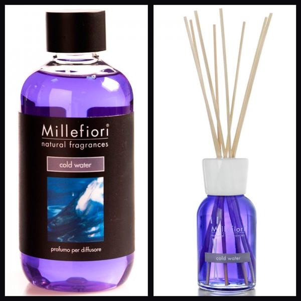 Millefiori Cold Water Diffuser + Nachfüllflasche - Sparset