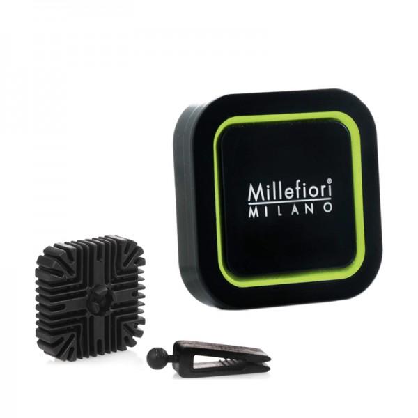 Millefiori Autoduft Quadro Sandalo Bergamotto + Nachfüller - Sparset
