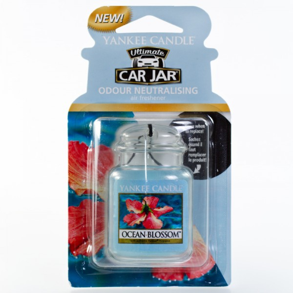 Yankee Candle Autoduft Ocean Blossom