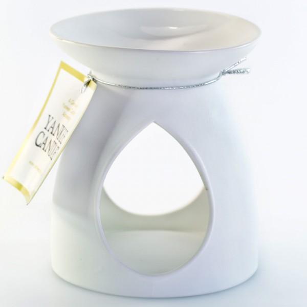 Yankee Candle Duftlampe weiß glatt
