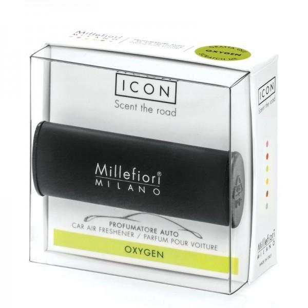 Millefiori Autoduft Oxygen - Schwarz