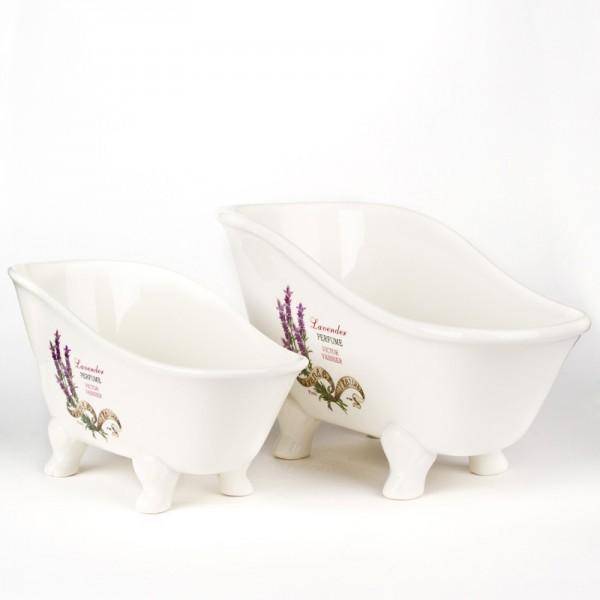 Badewanne Lavendel - groß
