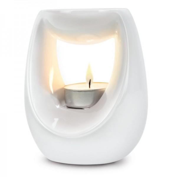 ipuro Duftlampe weiß - Stövchen - Wax Melt Warmer