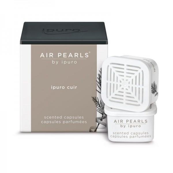 ipuro Air Pearls cuir - Duftkapsel - Leather & Wood