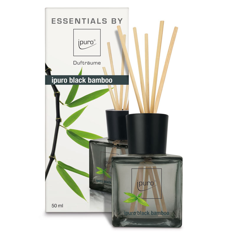 ipuro raumduft black bamboo diffuser essentials. Black Bedroom Furniture Sets. Home Design Ideas