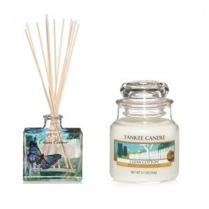 Yankee Candle Clean Cotton - Diffuser + Housewarmer - Duftset