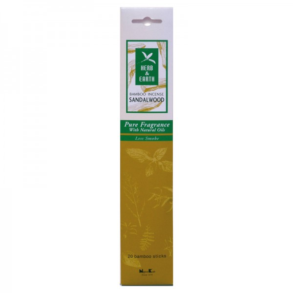 Nippon Kodo Sandalwood Räucherstäbchen - Tierra Zen - Herb & Earth