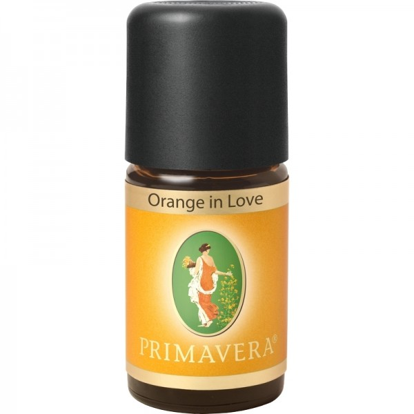Ätherisches Orangenöl in Love Primavera