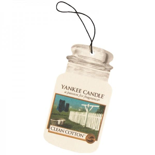 Yankee Candle Autoduft Clean Cotton - Car Jar