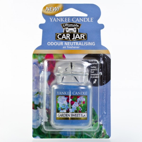 Yankee Candle Autoduft Garden Sweet Pea - Car Jar Ultimate