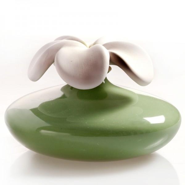 Millefiori Zierdiffuser Große Blume - grün
