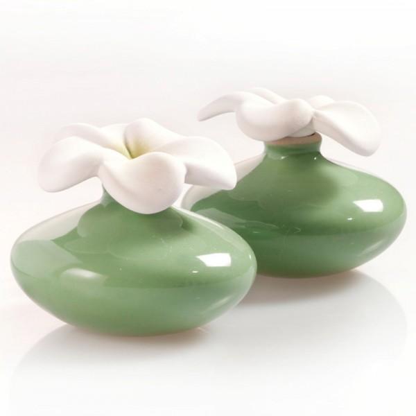 Millefiori Zierdiffuser Extrakleine Blumen - grün