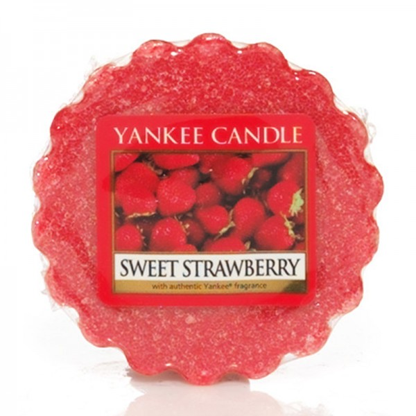 Yankee Candle Dufttarts Sweet Strawberry - Duftwachs