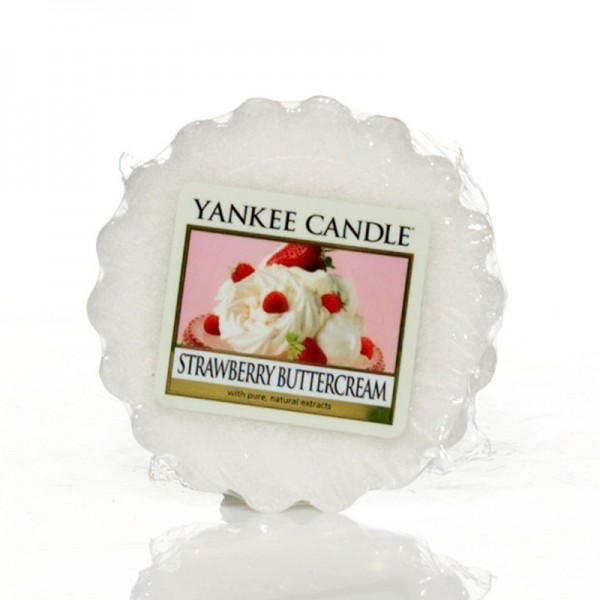 Yankee Candle Dufttarts Strawberry Buttercream - Duftwachs