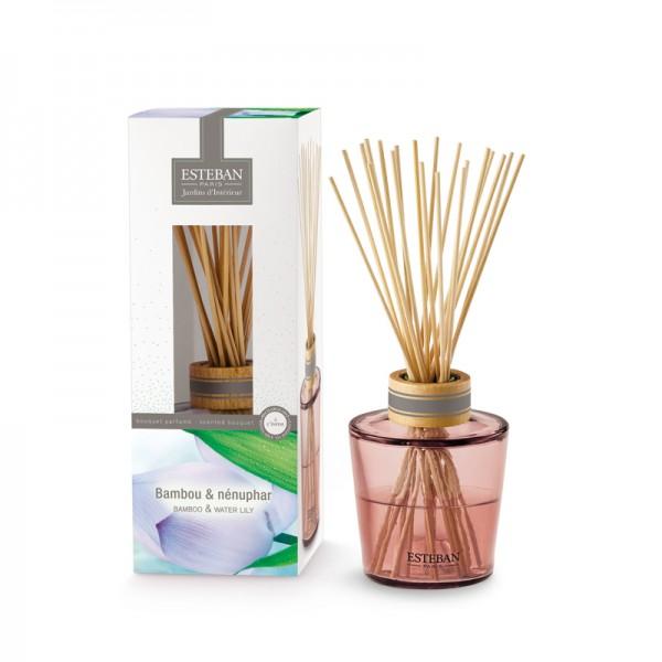 Estéban Bambou & Nénuphar Diffuser - Jardins d'Interieur