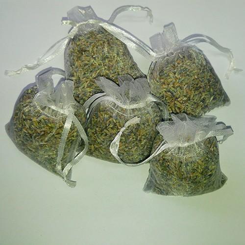 Entspannende Lavendelsäckchen
