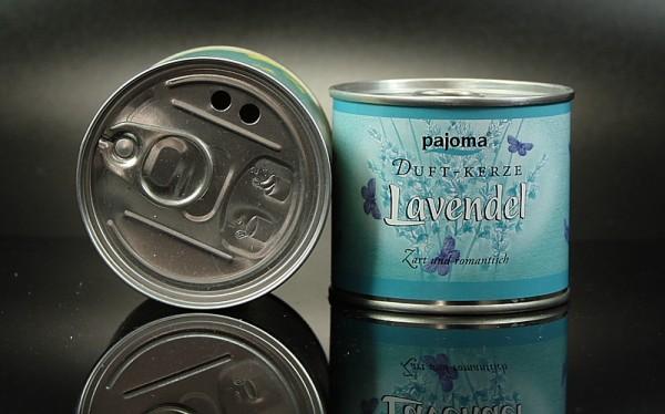 Pajoma Duftkerze aus der Dose Lavendel