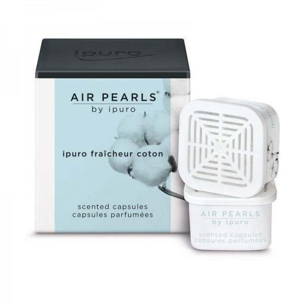ipuro Air Pearls fraîcheur coton - Duftkapsel - Cotton fields