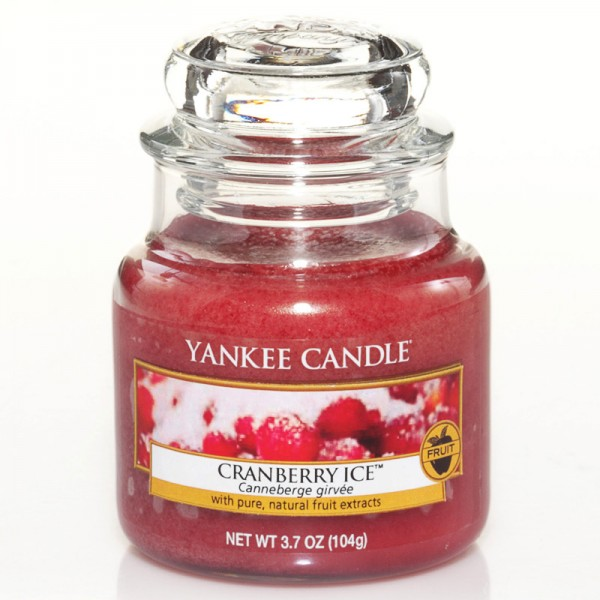 Yankee Candle Cranberry Ice - Housewarmer - inkl. Gratis Stabfeuerzeug *