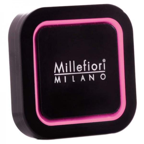 Millefiori Autoduft Icing Sugar Quadro - Schwaz/Rosa