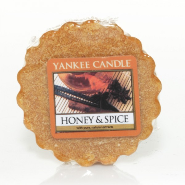 Yankee Candle Dufttarts Honey and Spice - Duftwachs