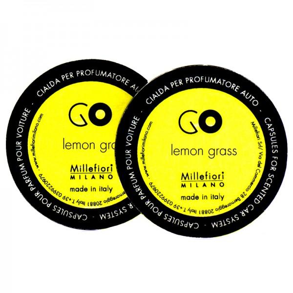 Millefiori Autoduft Go Lemongrass Nachfüller