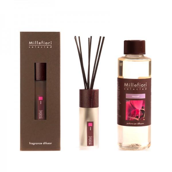 Millefiori Selected Monoi Diffuser + Nachfüllflasche - Sparset
