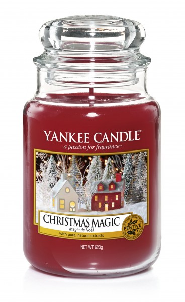yankee candle christmas magic housewarmer. Black Bedroom Furniture Sets. Home Design Ideas