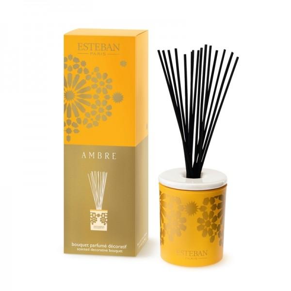 Estéban Ambre Diffuser - bouquet parfumé décoratif